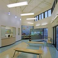 HC - SU - Pearland Pediatrics 2V interior front desk