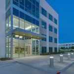 Comm - MT - Offices Sam Houston 4 ext night angle