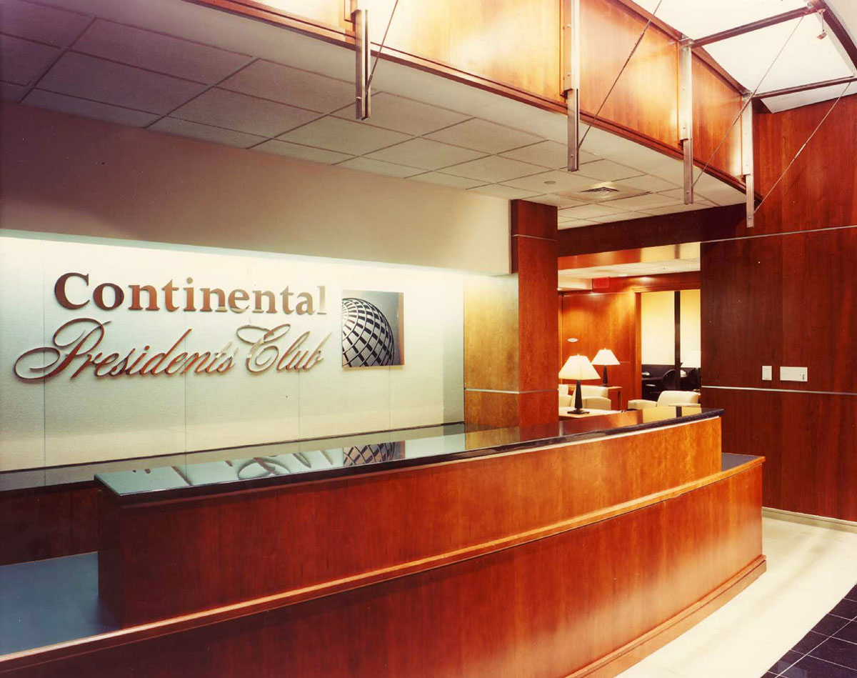 Continental Airlines President's Club