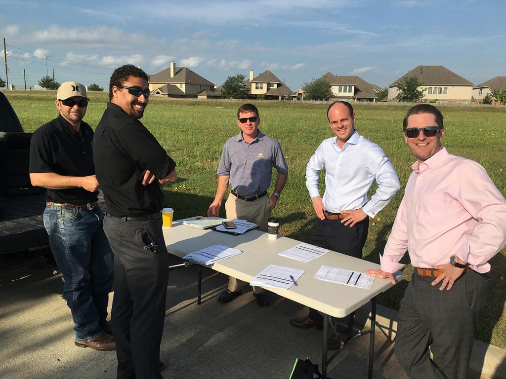 Backyard Team Meeting