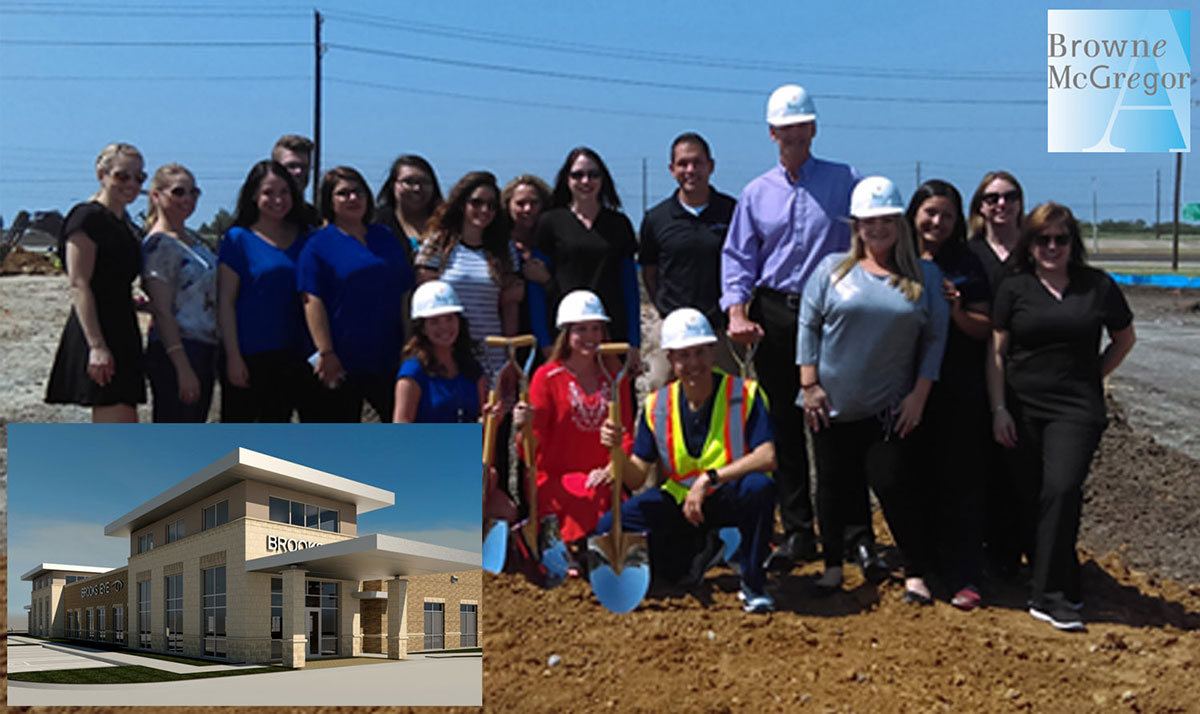 Brooks Eye Associates Breaks Ground in Plano