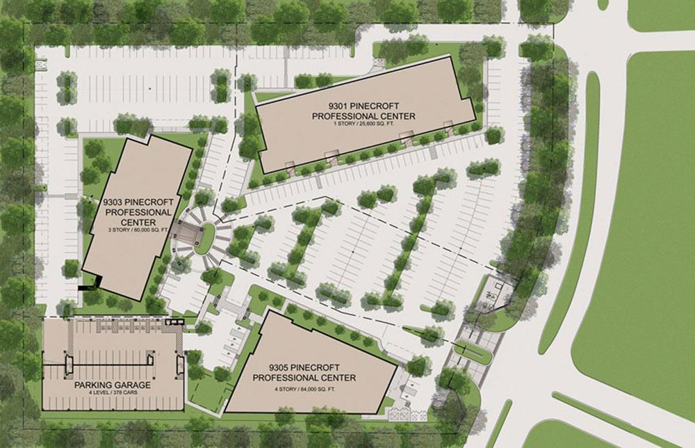 Pinecroft Medical Plaza Master Plan